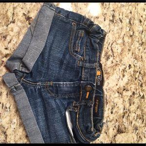 Lucky Brand girls Riley denim shorts, sz 5